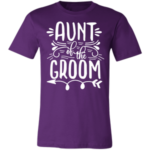 Aunt of the Groom Adult Tee