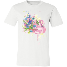 Load image into Gallery viewer, Artistic Flamingo #6 Adult Tee