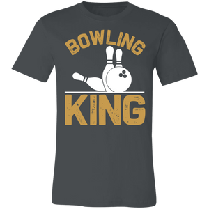 Bowling King Adult Tee