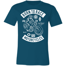Load image into Gallery viewer, Born To Race Motorcycles Adult Tee