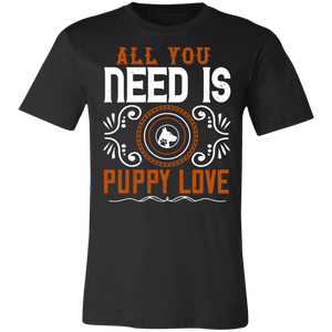 All You Need is Puppy Love Adult Tee