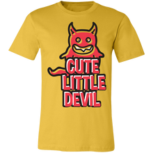 Load image into Gallery viewer, Cute Little Devil Adult Tee