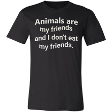 Load image into Gallery viewer, Animals are My Friends Adult Tee