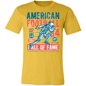 American Football Distressed Adult Tee