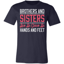 Load image into Gallery viewer, Brothers and Sisters #3 Adult Tee