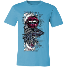 Load image into Gallery viewer, Creepy Arm and Vampire Teeth Adult Tee