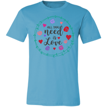 Load image into Gallery viewer, All You Need is Love #4 Adult Tee
