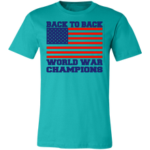 Load image into Gallery viewer, Back To Back World War Champions Adult Tee