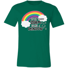 Load image into Gallery viewer, After Every Storm Comes a Rainbow Adult Tee