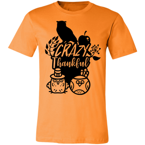 Crazy Thankful #2 Adult Tee