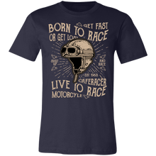 Load image into Gallery viewer, Born To Race Adult Tee