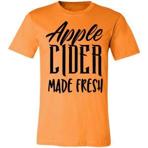 Apple Cider Made Fresh #1 Adult Tee