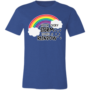 After Every Storm Comes a Rainbow Adult Tee
