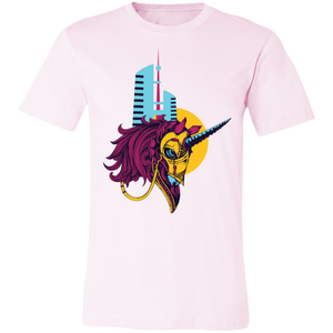 Artistic Warrior Unicorn #3 Adult Tee