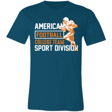 Load image into Gallery viewer, American Football College Team Adult Tee