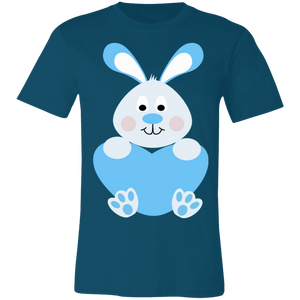 Bunny Heart Boy Adult Tee