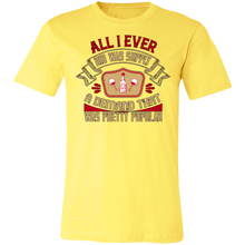 Load image into Gallery viewer, All I Ever Did Was Adult Tee