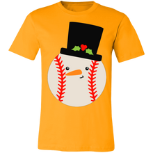 Load image into Gallery viewer, Baseball Snowball Hat Adult Tee