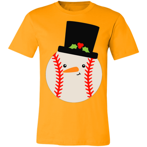 Baseball Snowball Hat Adult Tee