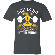 Load image into Gallery viewer, Age is No Barrier #2 Adult Tee