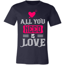 Load image into Gallery viewer, All You Need is Love #3 Adult Tee