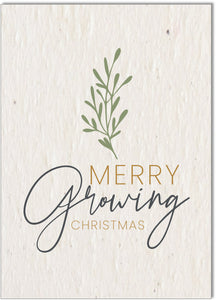Growing Paper • Christmas Cards
