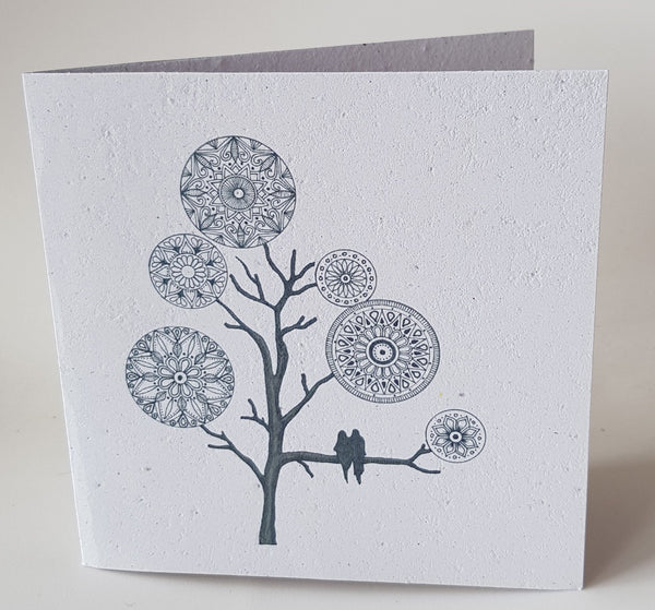 Greeting Card | Mandala Tree