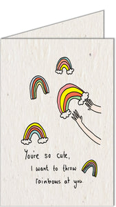 Greeting Card | Rainbows