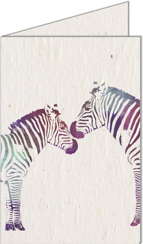 Copy of Greeting Card | Zebras