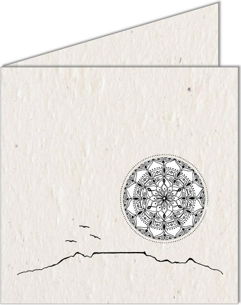 Greeting Card | Table Mountain & Mandala