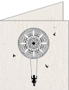 Greeting Card | Mandala Swing
