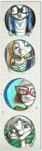 Bookmark | Faces