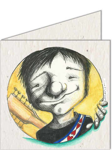 Greeting Card | Boy with a Guitar