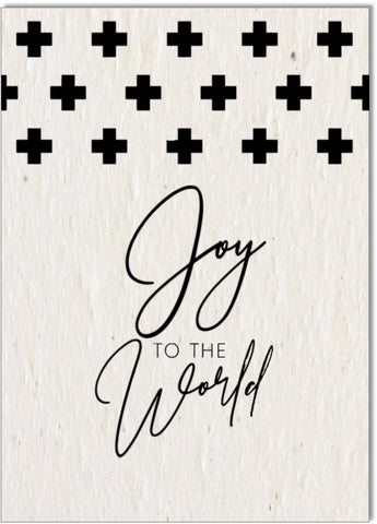 Christmas Card •Joy to the World