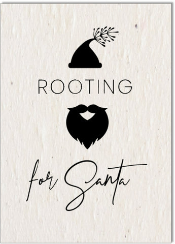 Christmas Card • Rooting for Santa
