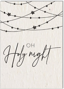 Christmas Card • Oh Holy Night