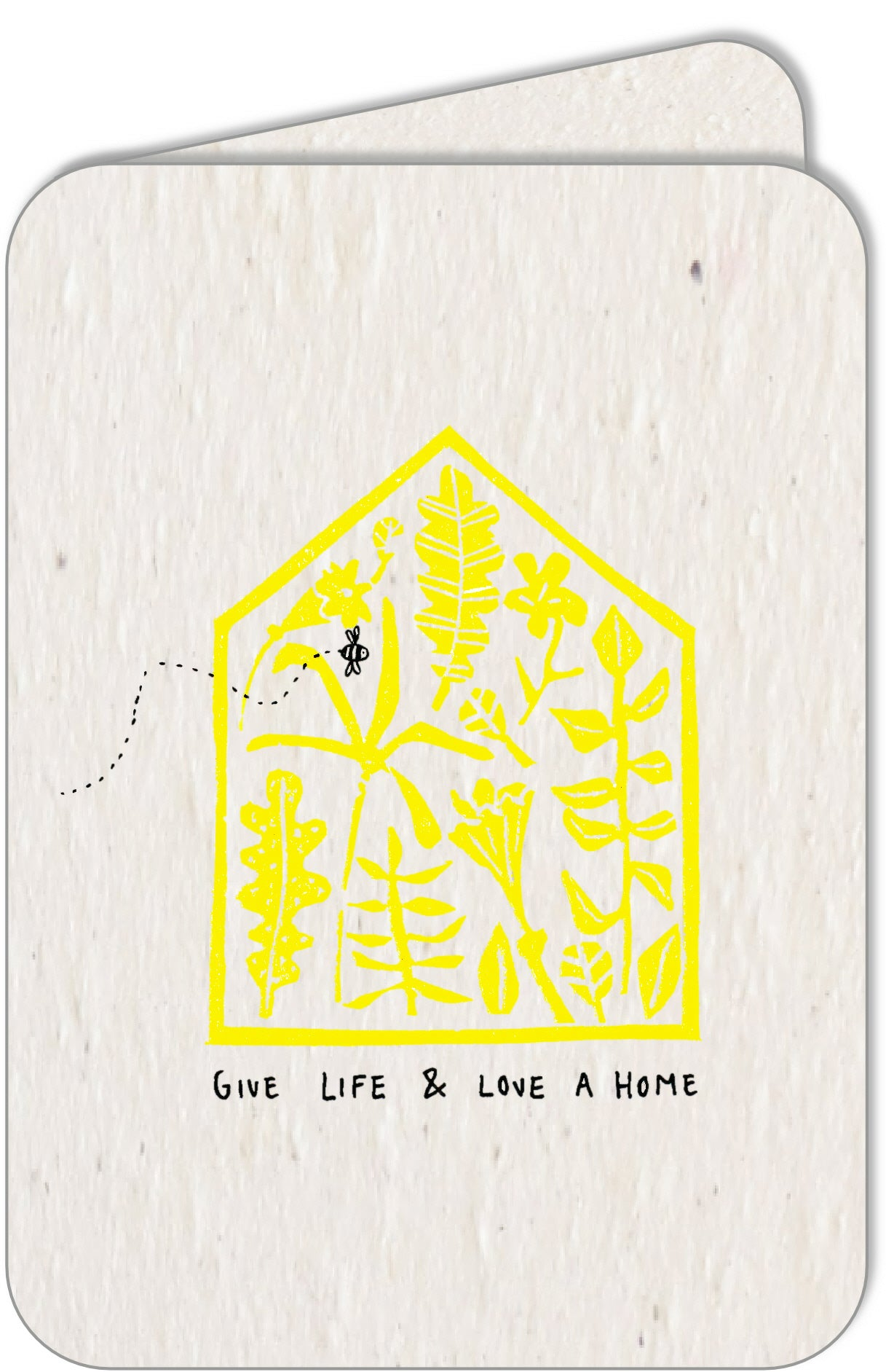 GIVE LIFE & LOVE A HOME  •  A4 print & set of 5 cards