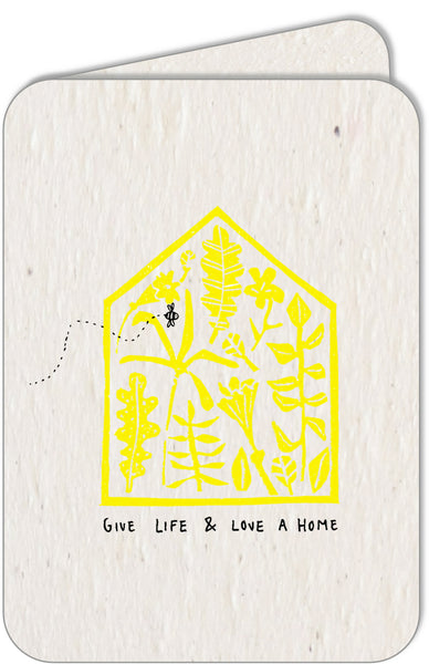 LOVE IS OUR SOIL. HOPE IS OUR SEED  •  A4 print & set of 5 cards
