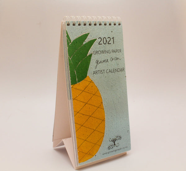2021 Growing Paper Artwork Calendar