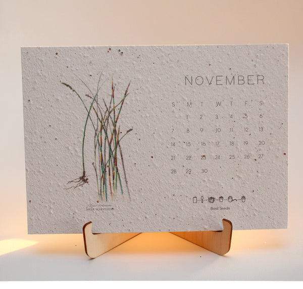 2021 Growing Paper Botanical Calendar | STAND