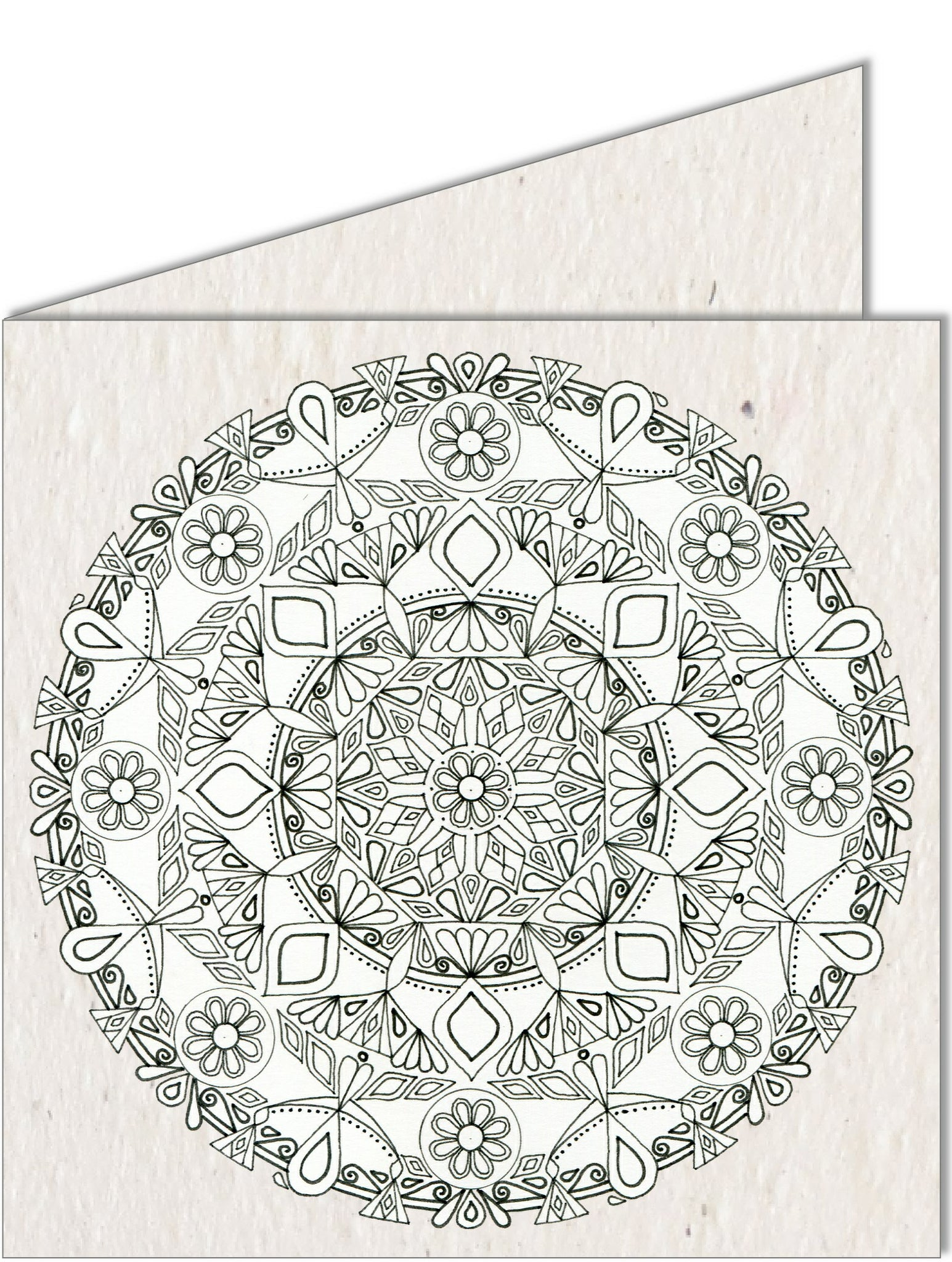 Greeting Card | Mandala