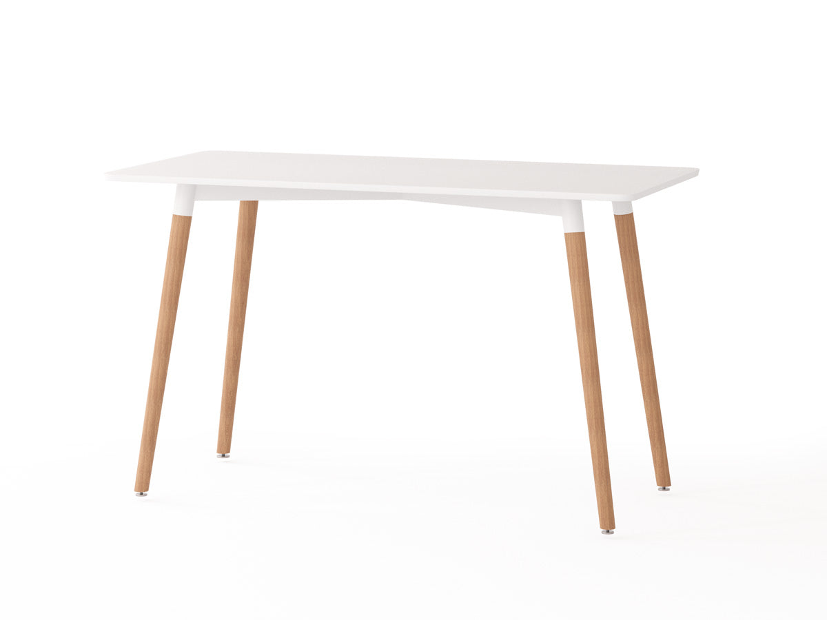 Arctic Rectangular Dining Table in White