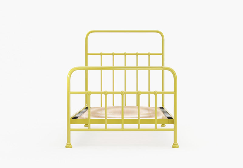 Skye Metal Bed Frame (Yellow)
