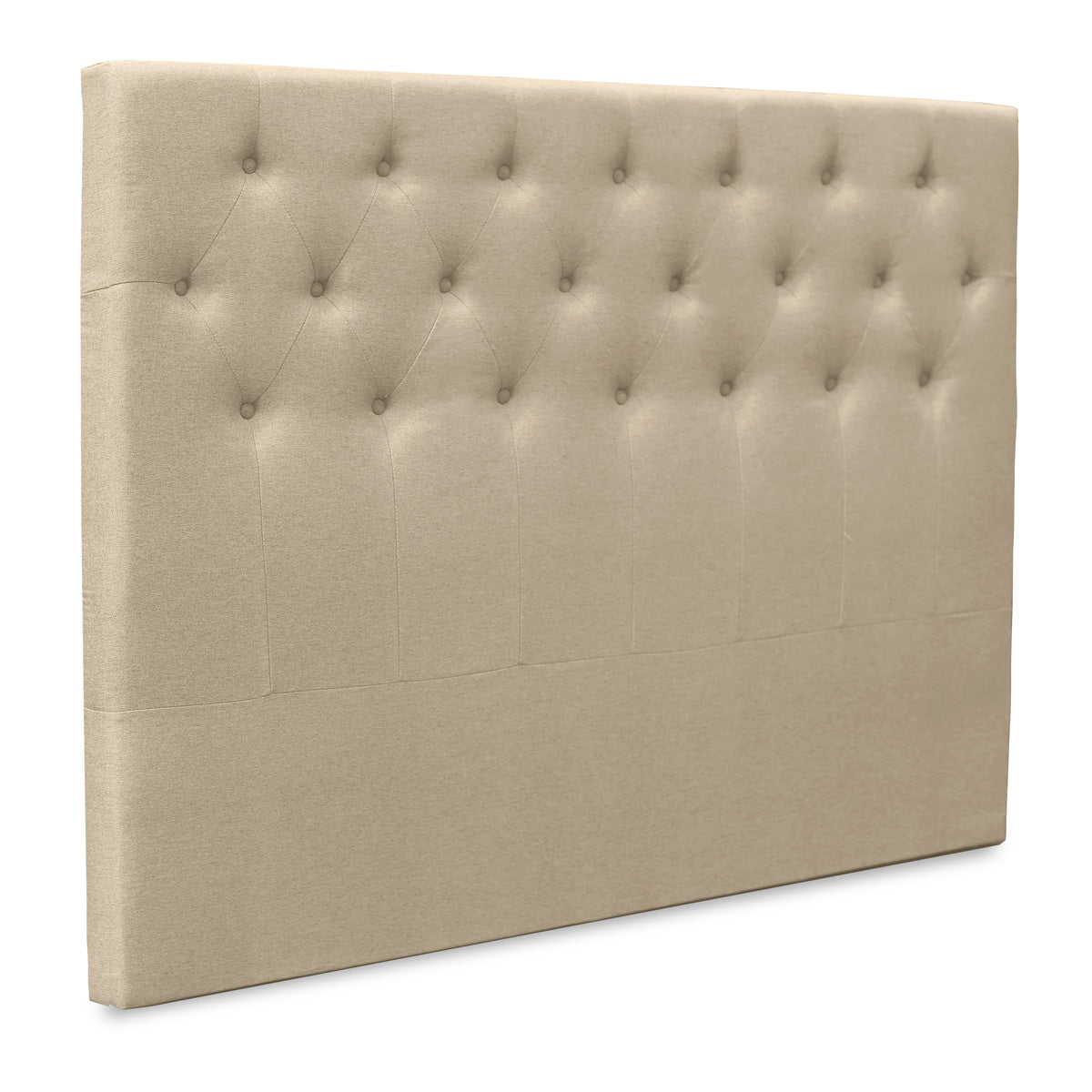 Florence Upholstered Fabric Bed Head (Tuscan Beige)