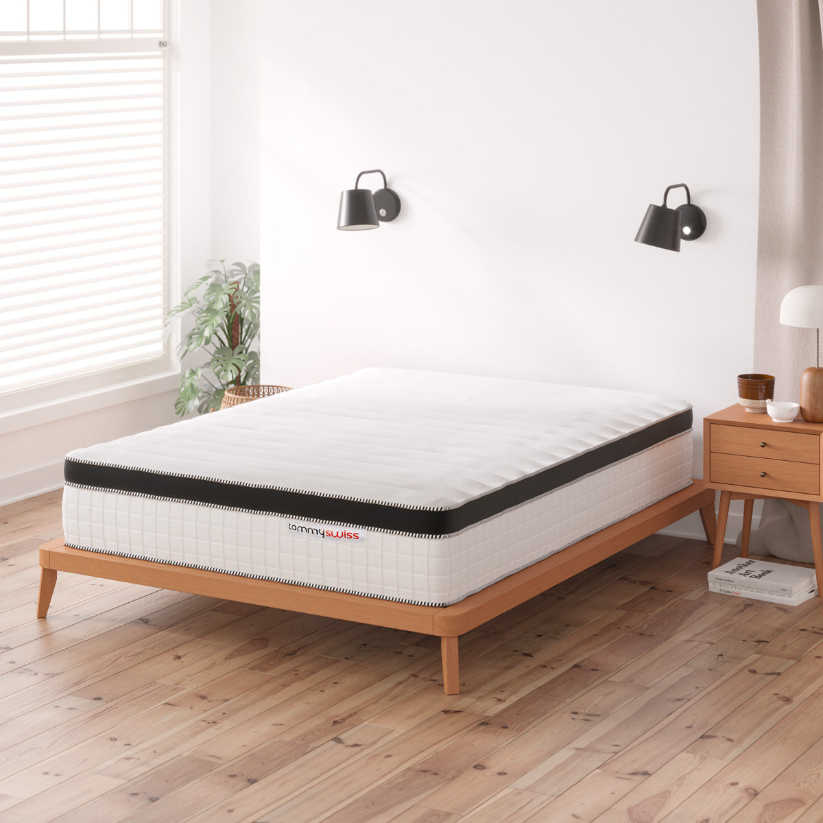 Single Mattress Pocket Spring with Latex & Memory Foam (Supreme Collection, 31cm)