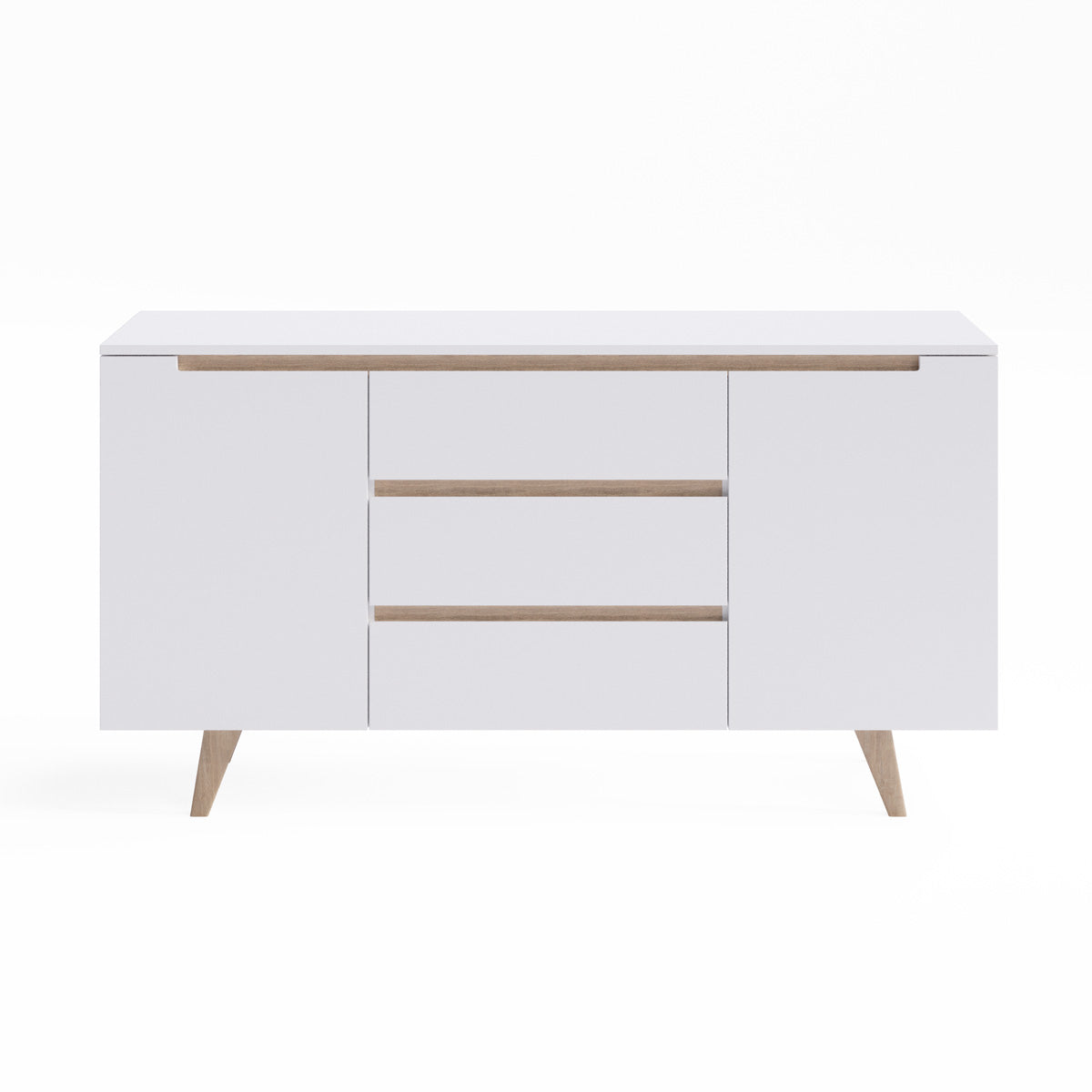 Sideboard Buffet Unit with Solid Oak Legs (Olsen Collection)