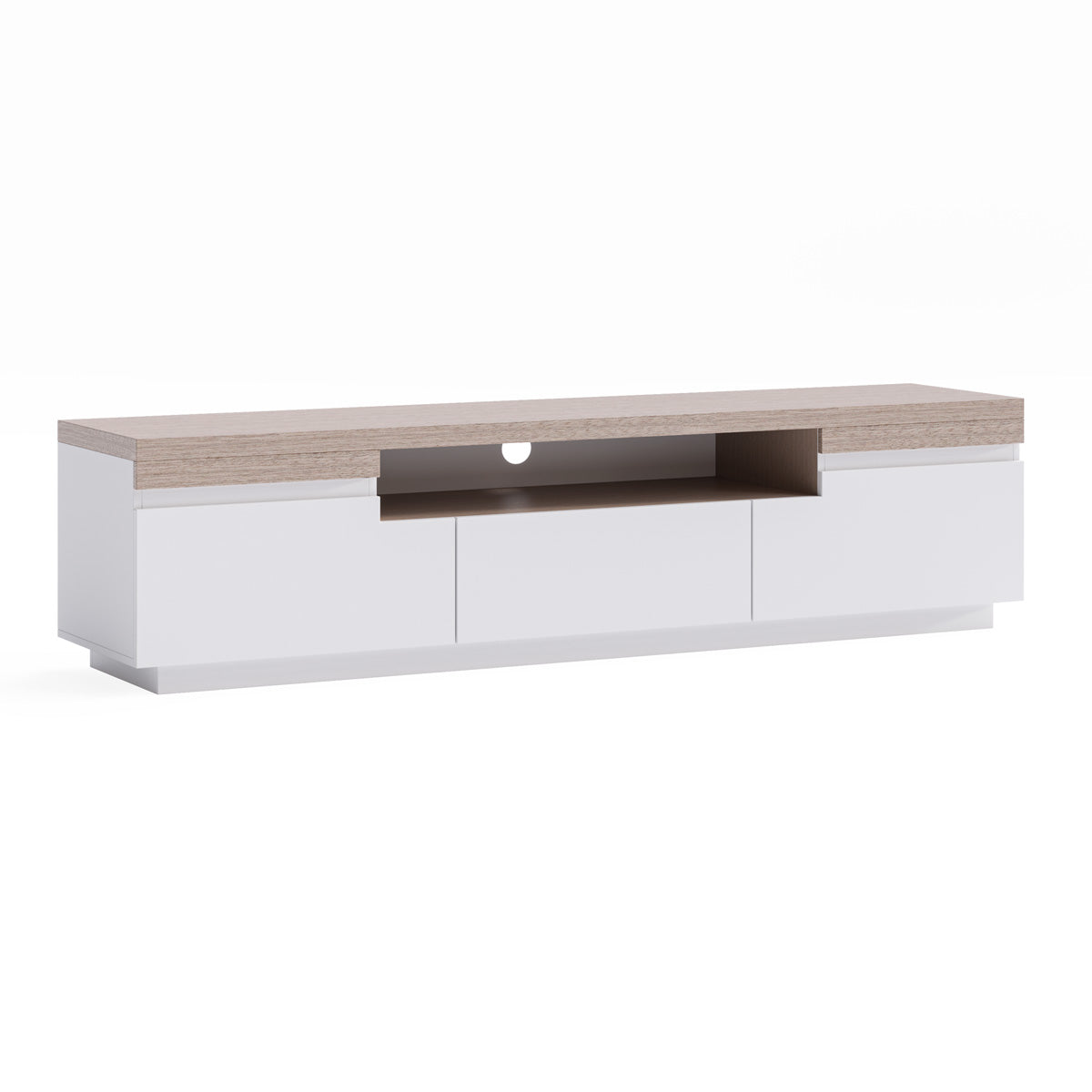 TV Cabinet Coastal Wooden Entertainment Unit (180cm Coogee)