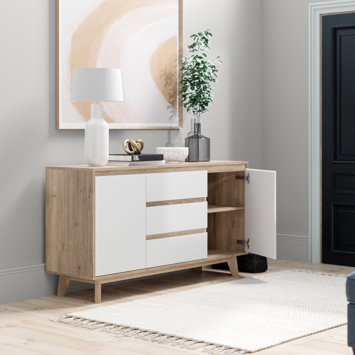 Sideboard Buffet Wooden Unit (Kinfolk Collection)