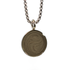 Circle Cremation Necklace with 2.5mm Chain in Sterling Silver