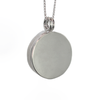 To the Moon and Back Cremation Necklace in Sterling Silver